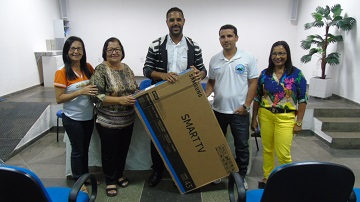 GANHADOR DA SMART TV 43""